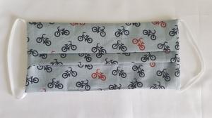 Waschbare Behelfs-Mund- und Nasenmaske 1 Stück Baumwolle Fahrrad doppellagig genäht kaufen