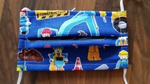 waschbare Kinder Behelfs-Mund- und Nasenmaske 1 Stück Baumwolle Baustelle einlagig genäht kaufen