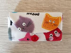 Haarspangentasche für Haarspangen Haarklammern Haargummis Haarspangenetui Haarspangenutensilo Katzen kaufen