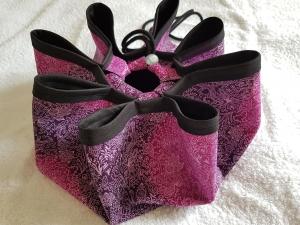 Badeteppich to go Softshell lila schwarz für Erwachsene und Kinder kaufen