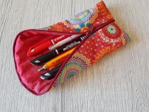 Stiftemäppchen Universalmäppchen Federmäppchen Utensilo  Brillenetui Etui Krimskram Geschenk Blumen