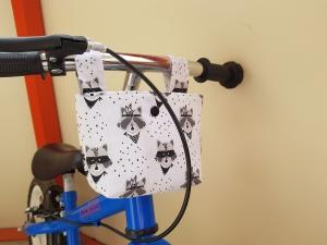 Handgefertigt Lenkertasche Laufradtasche Rollertasche Fahrradtasche Utensilo Geschenk kaufen
