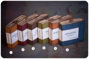 Leporello - Fotoalbum zum Selbstgestalten -  Farbwahl & Textwunsch
