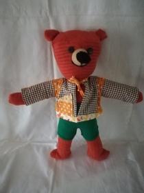 Handgefertigter Bär (Nr. 1)