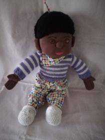 Handgefertigte Ethno-Puppe