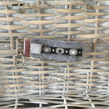 Schlüsselanhänger Schlüsselband Filz