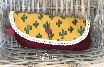 Brillenetui Kosmetiktäschchen Kakteen Kaktus