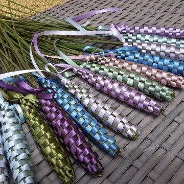 3er Set Lavendel-Keulchen - dufte und dekorativ