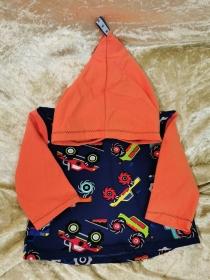 Langarmshirt mit Zipfelmütze ´Monstertruck` Gr. 62/68 - Handarbeit kaufen