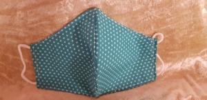Schnutenpulli für Erwachsene ´Sterne petrol´ - Handarbeit kaufen