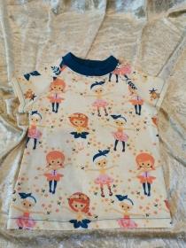 T-Shirt ´Ballerina´ Gr. 86/92 - Handarbeit kaufen