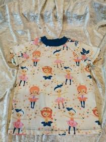 T-Shirt ´Ballerina´ Gr. 98/104 - Handarbeit kaufen
