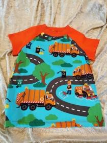 T-Shirt ´Manni Müllmann´ Gr. 110/116 - Handarbeit kaufen
