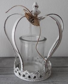 Dekorative kleine Krone Shabby zauberhaftes Krönchen