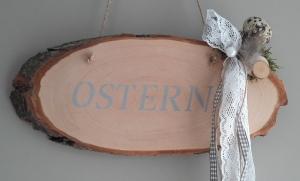 Hängedeko Türschild Wanddekoration Aufhänger Holzschild Ostern