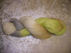 100 gr. handgefärbte Sockenwolle 4 fädig Andora