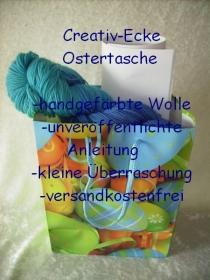 Creativ-Ecke Ostertasche für alle Strickbegeisterten für einen Halsschmeichler