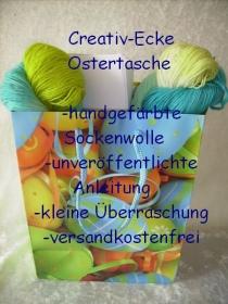 Creativ-Ecke Ostertasche für alle Strickbegeisterten für Socken
