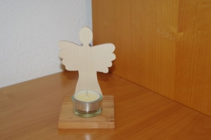 Kerzenhalter - Teelichthalter Engel