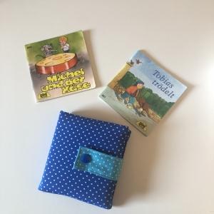 Minibuchhülle,  Pixibuchhülle,  Mäppchen für kleine Bücher, von Mausbär