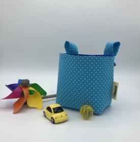 Kinder Lenkertasche für Puky, Laufrad, Roller, Dreirad , Kinderwagen, hellblau,  von Mausbär