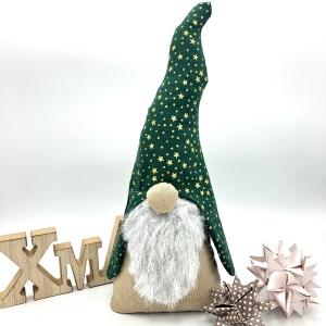 Wichtel, Weihnachtswichtel, Türstopper, Kantenhocker von Mausbär - Handarbeit kaufen
