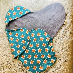 Einschlagdecke, Maxi Cosi Decke ,Decke für Babyschale, Babydecke