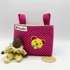Kinder Lenkertasche für Puky, Laufrad, Roller, Dreirad , Kinderwagen, von Mausbär - Handarbeit kaufen