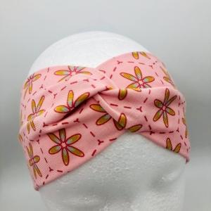 Stirnband, Haarband , Bandeau , Boho-Stirnband, KU 48-53 cm