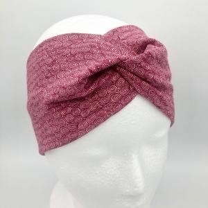 Stirnband, Haarband , Bandeau , Boho-Stirnband 54-57cm, altrosa