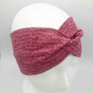 Stirnband, Haarband , Bandeau , Boho-Stirnband 48 - 53 cm, altrosa