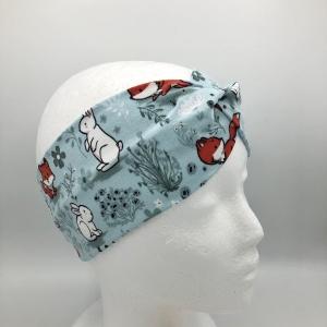 Stirnband, Haarband , Bandeau , Boho-Stirnband , 39 - 43 cm, mint - Handarbeit kaufen