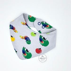 Wendehalstuch, Halstuch zum wenden , Tuch, Spucktuch, Dreieckstuch für Babys  - Handarbeit kaufen