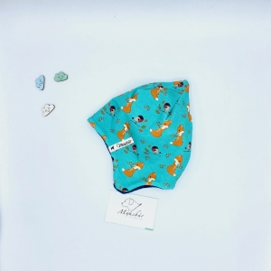 Zipfelmütze, KU 40 - 41 cm, Zwergenmütze, Kindermütze, mint, von Mausbär - Handarbeit kaufen