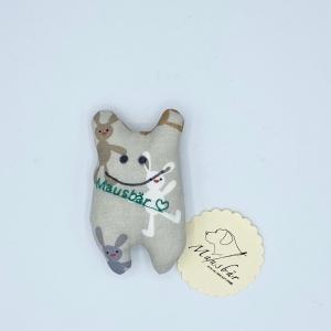 Taschenmausbär, Taschenfreund, Trösterle, kleiner Freund, Hasi, von Mausbär - Handarbeit kaufen
