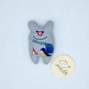 Taschenmausbär, Taschenfreund, Trösterle, kleiner Freund, Grauchen, von Mausbär