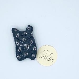 Taschenmausbär, Taschenfreund, Trösterle, kleiner Freund, Blümli, von Mausbär - Handarbeit kaufen