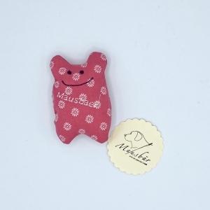 Taschenmausbär, Taschenfreund, Trösterle, kleiner Freund, Rosa , von Mausbär