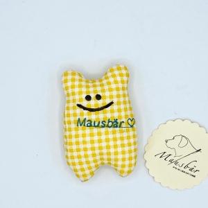 Taschenmausbär, Taschenfreund, Trösterle, kleiner Freund, Sonnenschein von Mausbär - Handarbeit kaufen