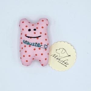 Taschenmausbär, Taschenfreund, Trösterle, kleiner Freund, Rosalie, von Mausbär - Handarbeit kaufen