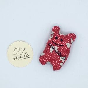 Taschenmausbär, Taschenfreund, Trösterle, kleiner Freund, Hasi, von Mausbär