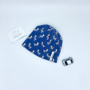 Babymütze, KU 39 - 42 cm, Beanie, Neugeborenenmütze, Zebra, von Mausbär - Handarbeit kaufen