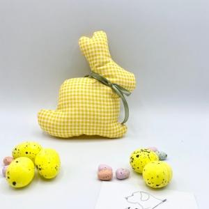 Osterhase, 15 cm, Hase, Osterdeko, Ostergeschenk, von Mausbär - Handarbeit kaufen