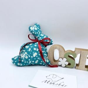 Osterhase,12 cm, Hase, Osterdeko, Ostergeschenk, von Mausbär  - Handarbeit kaufen