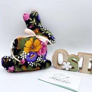 Osterhase, 15cm, Hase, Osterdeko, Ostergeschenk, von Mausbär  - Handarbeit kaufen