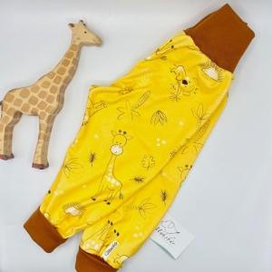 Pumphose, Größe 80 - 86,  Mitwachshose, Safari, von Mausbär   - Handarbeit kaufen
