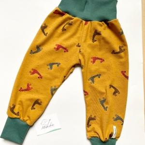 Pumphose, Größe 80 - 86,  Mitwachshose, Giraffe, von Mausbär  - Handarbeit kaufen