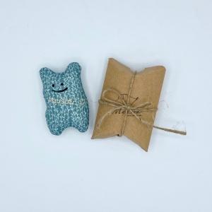 Taschenmausbär, Taschenfreund, Trösterle, kleiner Freund, Rankli, von Mausbär  - Handarbeit kaufen