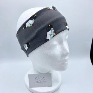 Stirnband, KU 50 - 53 cm, Jungen Stirnband, Auto, von Mausbär  - Handarbeit kaufen