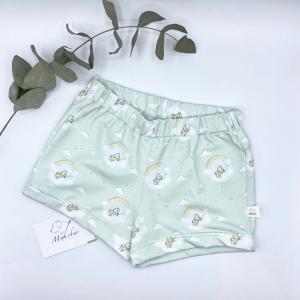 Shorts, Größe 86 - 92,  Shortys, kurze Hose, Babyhose, Kinderhose, von Mausbär   - Handarbeit kaufen